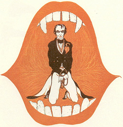 Alastair illustration for Red Skeletons