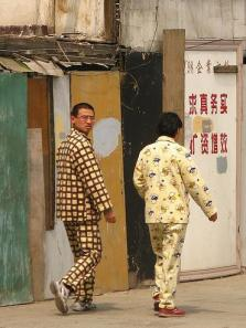 pjs with sneakers, Shanghai