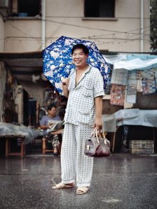 blue pjs, Shanghai, also by Guariglia