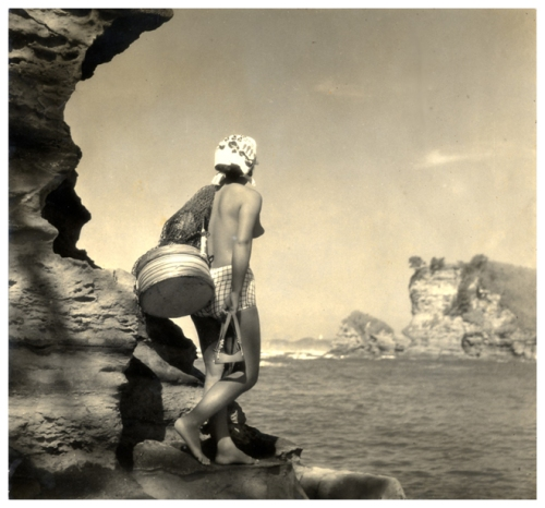 Yoshiyuki Iwase, Bluff Gazing, 1935