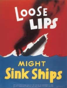 Loose Lips Might Sink Ships And / Or The Bands Sailing Them