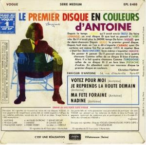 Antoine Votez Pour Moi back