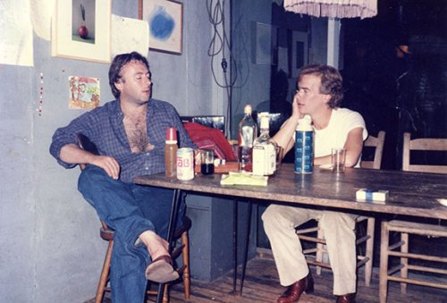 Hitchens and Amis 1975