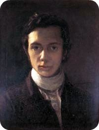 William Hazlitt self-portrait