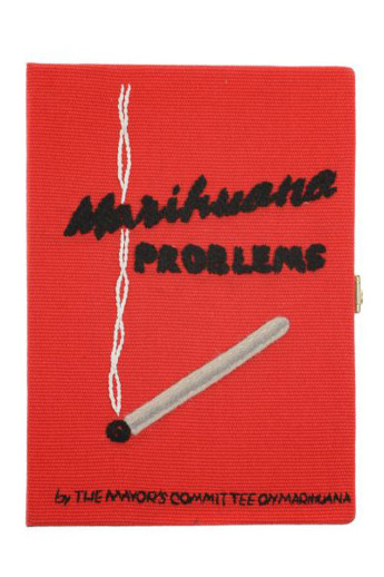Olympia le Tan Marihuana Problems bag