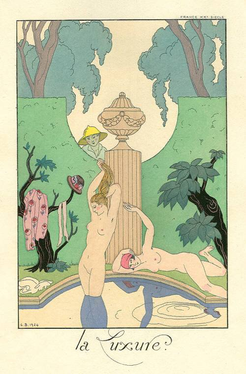 George Barbier, La Luxure