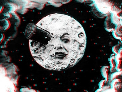 Melies moon in 3D