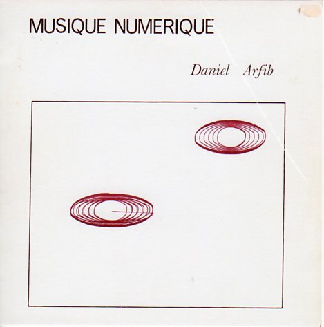 Daniel Arfib, Musique Numerique