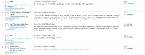Lunar Camel Co. spam comments part 2