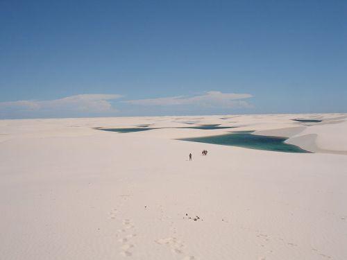 Lençóis Maranhenses lagoons