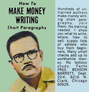 make money writing short paragraphs