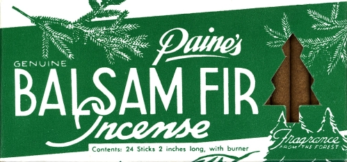 Paine's Balsam Fir Incense