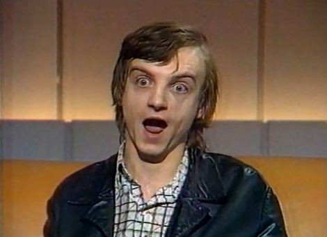 Mark E. Smith is surprised